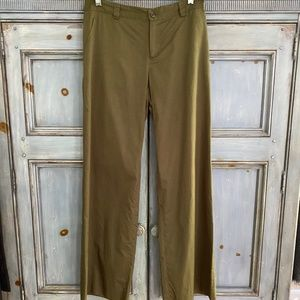 Celine light sand cotton blend  casual pants sz 36